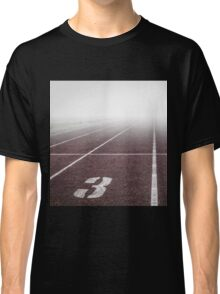 Track and Field Fog Scenery Classic T-Shirt