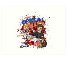 Dexter's Cereal Killer! Art Print