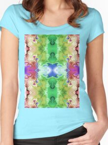 Dreaming of Rainbows Women's Fitted Scoop T-Shirt