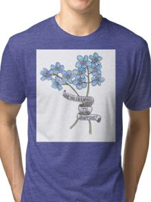 Have you ever wanted to disappear? Tri-blend T-Shirt