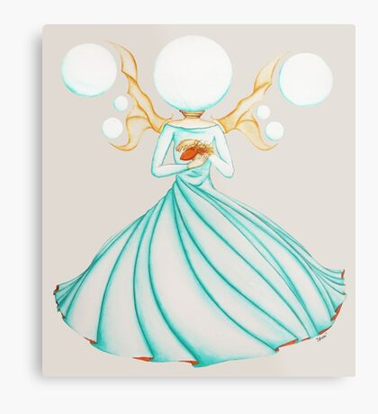 The Electricity Fairy Metal Print