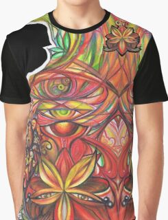 Forming Flower Graphic T-Shirt