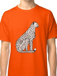 Cheetahs (black and white version) Classic T-Shirt