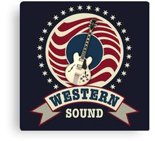 Cool Western Sound Canvas Print