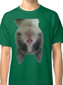 Crazy Gracie Upside Down Kitty Classic T-Shirt