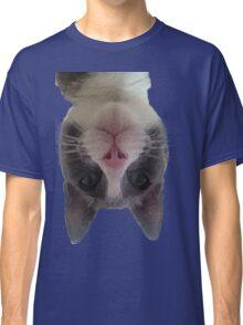 Crazy Gracie Upside Down Kitty Classic T-Shirt
