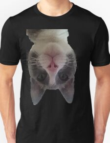 Crazy Gracie Upside Down Kitty Unisex T-Shirt