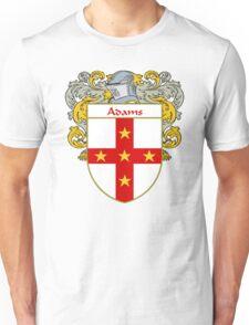 Adams Coat of Arms/Family Crest Unisex T-Shirt