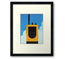 Firewatch- Walkie Talkie Framed Print