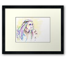 Elf Warrior Framed Print