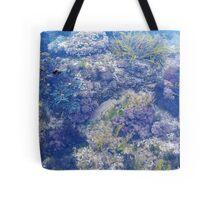 Corals in the sea Tote Bag