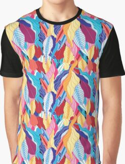 Seamless  pattern with leaves Graphic T-Shirt