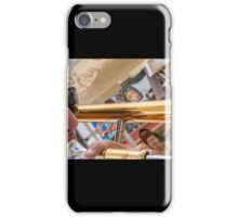 Blowing his horn iPhone Case/Skin