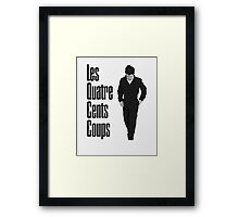 Les Quatre Cents Coups -  The 400 Blows Framed Print
