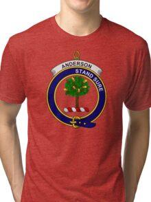Anderson Clan Badge Tri-blend T-Shirt