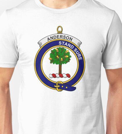 Anderson Clan Badge Unisex T-Shirt