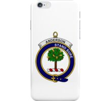 Anderson Clan Badge iPhone Case/Skin