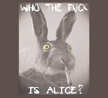 Who the f*ck is Alice? Womens Fitted T-Shirt