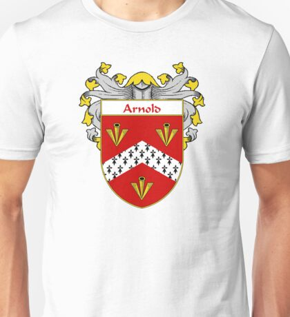 Arnold Coat of Arms/Family Crest Unisex T-Shirt
