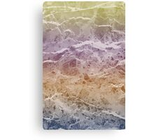 marble every warna Canvas Print
