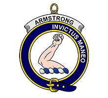 Armstrong Clan Badge Photographic Print