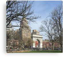 Washington Square Park, New York Canvas Print
