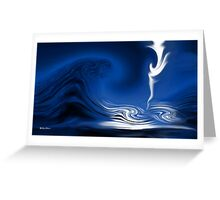 How Deep Is The Ocean-Abstract+Products Design Greeting Card