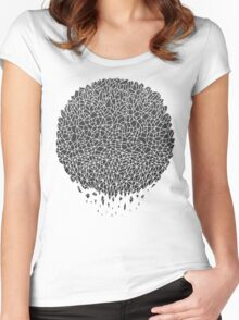 Black Sphere Women's Fitted Scoop T-Shirt