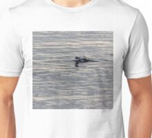 Gliding on Moire Silk Unisex T-Shirt