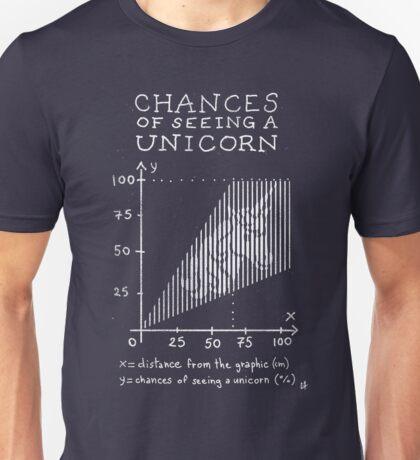 Chances of Seeing a Unicorn Unisex T-Shirt