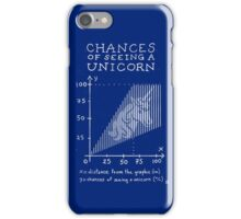 Chances of Seeing a Unicorn iPhone Case/Skin