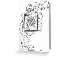 Wild Flora Framed Greeting Card