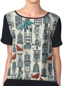 steampunk towers Chiffon Top