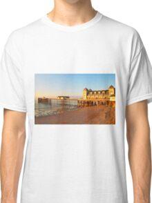 Golden Hour Penarth Pier Classic T-Shirt