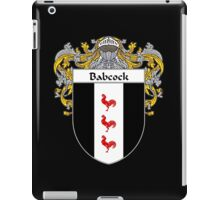 Babcock Coat of Arms/Family Crest iPad Case/Skin