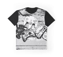 Collection de manettes - Joysticks collection Graphic T-Shirt