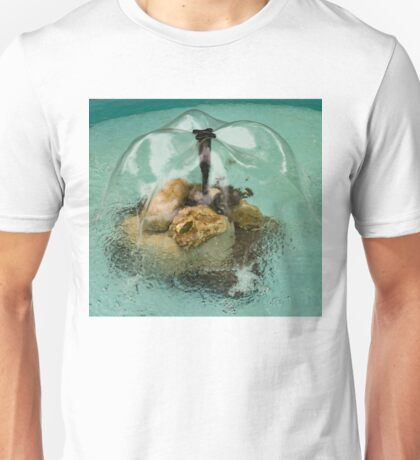 Flower Fountain - Whimsical Water Feature to Delight You Unisex T-Shirt