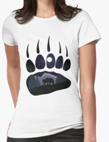 Night Walk Womens Fitted T-Shirt