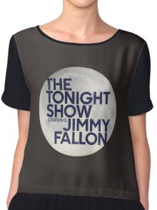 Tonight Show Starring Jimmy Fallon Chiffon Top