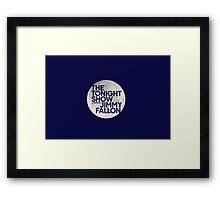 Tonight Show Starring Jimmy Fallon Framed Print