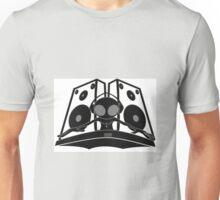 black DJ Unisex T-Shirt