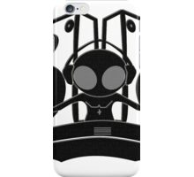 black DJ iPhone Case/Skin