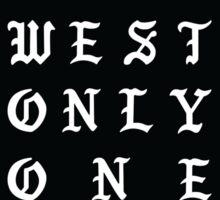 Donda West Sticker