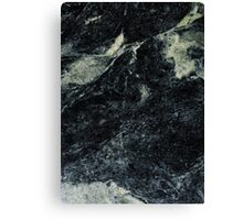 black marble hot Canvas Print