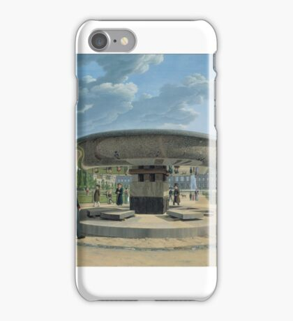The Granite Dish in the Berlin Lustgarten  by Erdmann Hummel iPhone Case/Skin