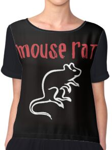 Mouse Rat- Parks and Rec Chiffon Top