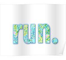 run. Poster