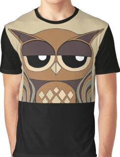 UNDERSTANDING OWL PORTRAIT Graphic T-Shirt