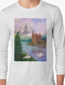 Swan Castle Long Sleeve T-Shirt
