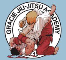 RYU VS KEN - GRACIE JIU-JITSU STYLE One Piece - Short Sleeve